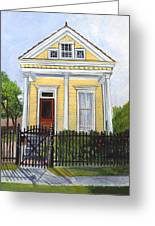 Historic Louisiana Cottage Greeting Card