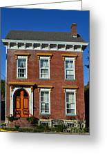 Historic Madison Row House Greeting Card