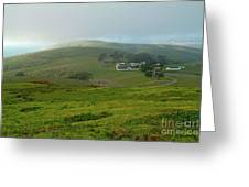 Historic Pierce Point Ranch In Point Reyes Greeting Card