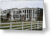 Historic Plantation Greeting Card