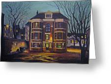 Historic Property South End Haifax Greeting Card