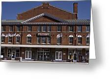 Historic Roanoke City Market Building Greeting Card