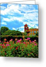 Historic Rochester Gardens Greeting Card