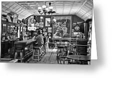 Historic Saloon - Virginia City Montana Greeting Card by Daniel Hagerman