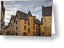 Historic Sarlat - La - Caneda France Greeting Card