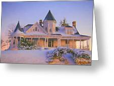 Historic Sidna Allen House Greeting Card