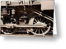 Historic Trains Greeting Card