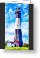 Historic Tybee Island Lighthouse Greeting Card