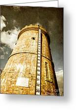 Historic Water Storage Structure Greeting Card