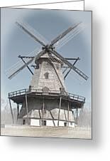 Historic Windmill Greeting Card