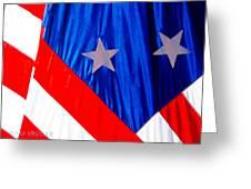 Historical American Flag Greeting Card