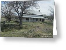 Historical Concho House Greeting Card