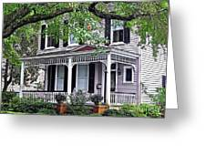 Historical Home In Wilmington Greeting Card