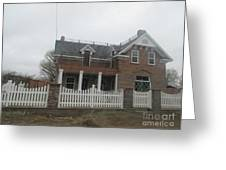 Historical House In Taylor Greeting Card