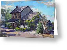 Historical House Ontario Greeting Card