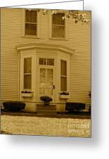Historical Housing Fort Leavenworth Greeting Card