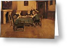 Historical Interior Greeting Card