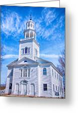 Historical Old First Church Greeting Card