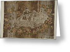 Historical Printed Textile Greeting Card
