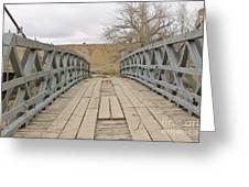 History Bridge Greeting Card
