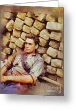 History In Color. French Resistance Fighter, Wwii Greeting Card
