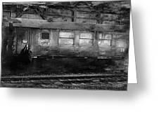 History Train Greeting Card