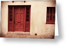 History's Doorway Greeting Card