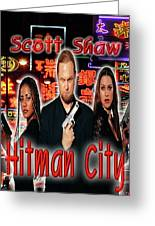 Hitman City Greeting Card