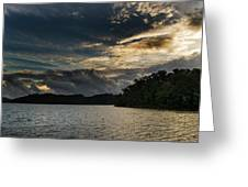 Hiwassee Lake From Hanging Dog Recreation Area Greeting Card