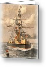 Hms Inflexible Greeting Card