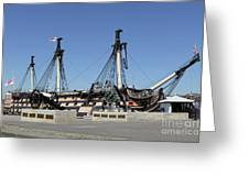Hms Victory Portsmouth Greeting Card