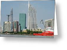 Ho Chi Minh City 1 Greeting Card
