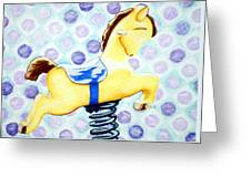 Hobby Horse 2 Greeting Card