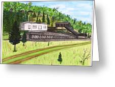 Hocking Valley Mine Greeting Card