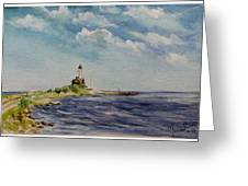 Hogby Lighthouse Greeting Card