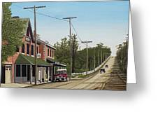 Hoggs Hollow Toronto 1920 Greeting Card