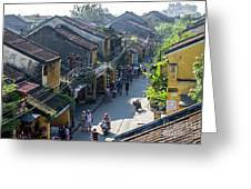 Hoi An Rooftops 01 Greeting Card