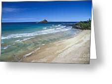 Hokuula Beach Greeting Card
