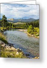 Holback River Greeting Card