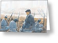 Hold The Line Greeting Card