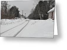 Holden Massachusetts Depot Greeting Card