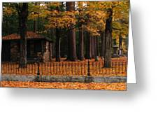 Holderness Cemetery Greeting Card