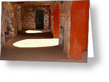 Holding Cells For Slaves Greeting Card