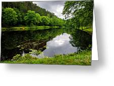 Hole In The Lake Greeting Card