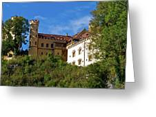 Holenschwangau Castle 3 Greeting Card