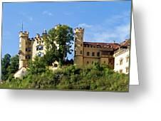 Holenschwangau Castle 4 Greeting Card