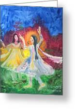 Holi-festival Of Colors Greeting Card