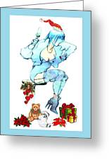 Holiday Girl - Holiday Cards Greeting Card
