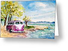 Holiday In Cala Ratjada Greeting Card