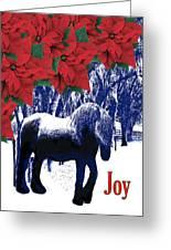 Holiday Joy Card Greeting Card